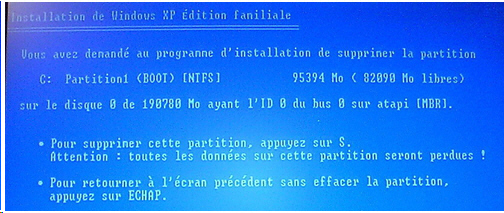 Voici comment formater son ordinateur  avant de reinstaller windows XP.
